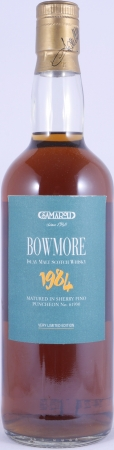 Bowmore 1984 16 Years Sherry Fino Puncheon Cask 61930 Samaroli Very Limited Edition Single Malt Scotch Whisky 45,0%