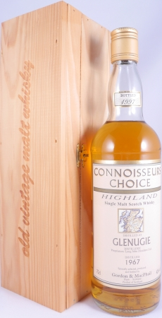 Glenugie 1967 30 Years Highland Single Malt Scotch Whisky Gordon and MacPhail Connoisseurs Choice 40.0%