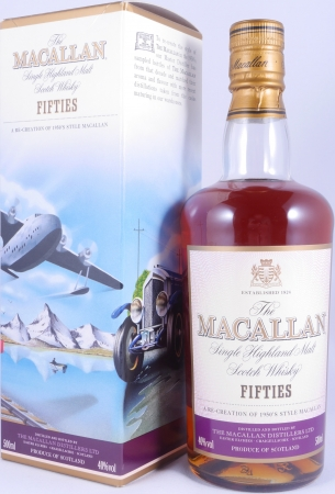 Macallan Fifties 1950s Travel Range Highland Single Malt Scotch Whisky 40,0%