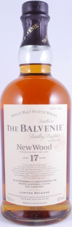 Balvenie 1989 17 Years New Wood Finish Limited Release Highland Single Malt Scotch Whisky 40.0%