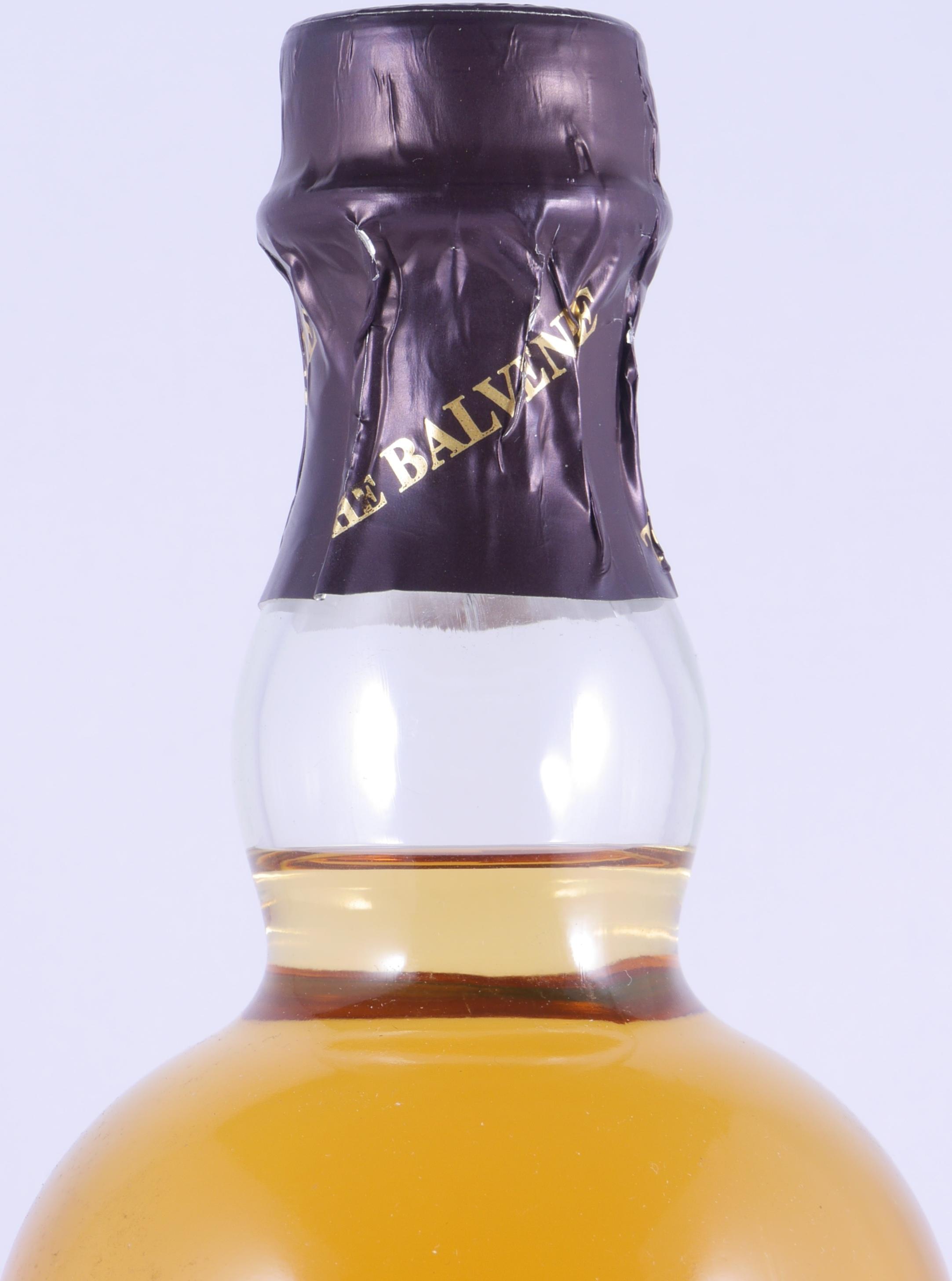 Bottles from Balvenie