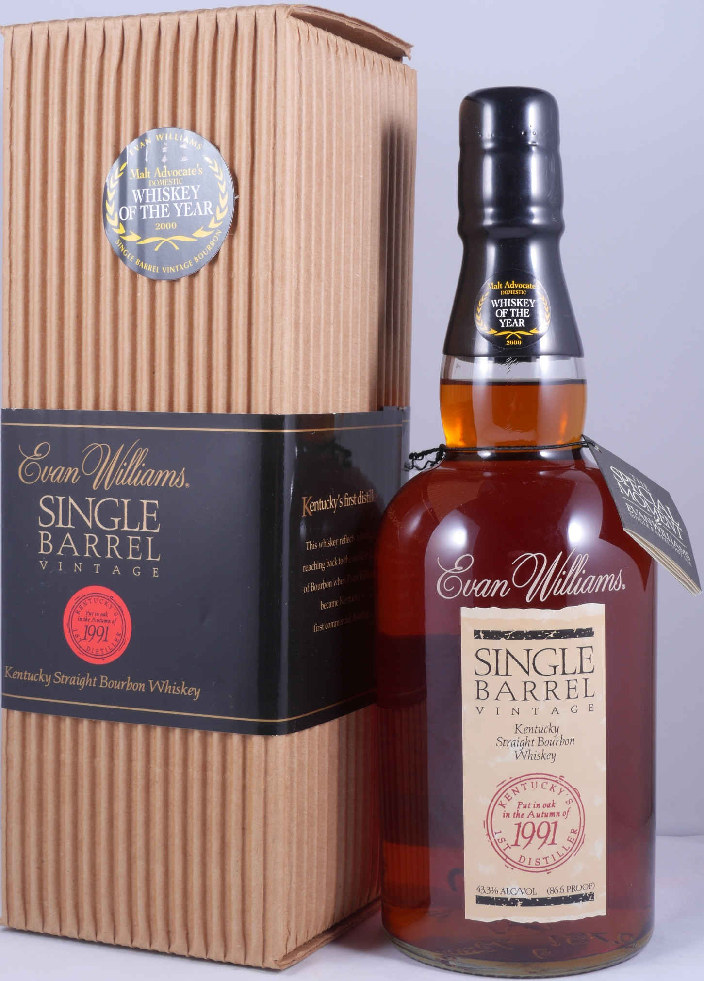 evan wiliams single barrel vintage