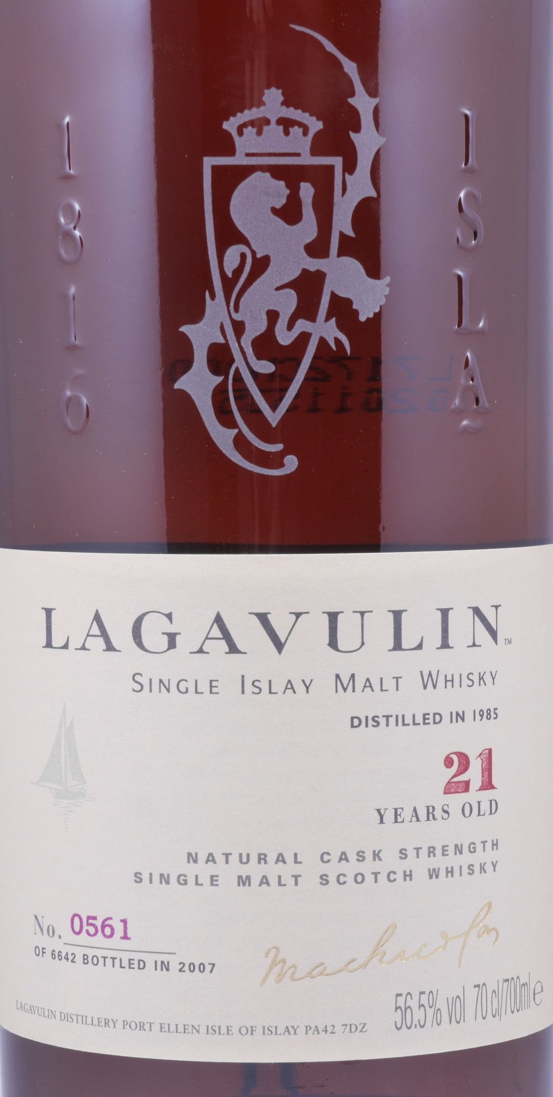 buy lagavulin 1985 21 years sherry cask limited special. Black Bedroom Furniture Sets. Home Design Ideas