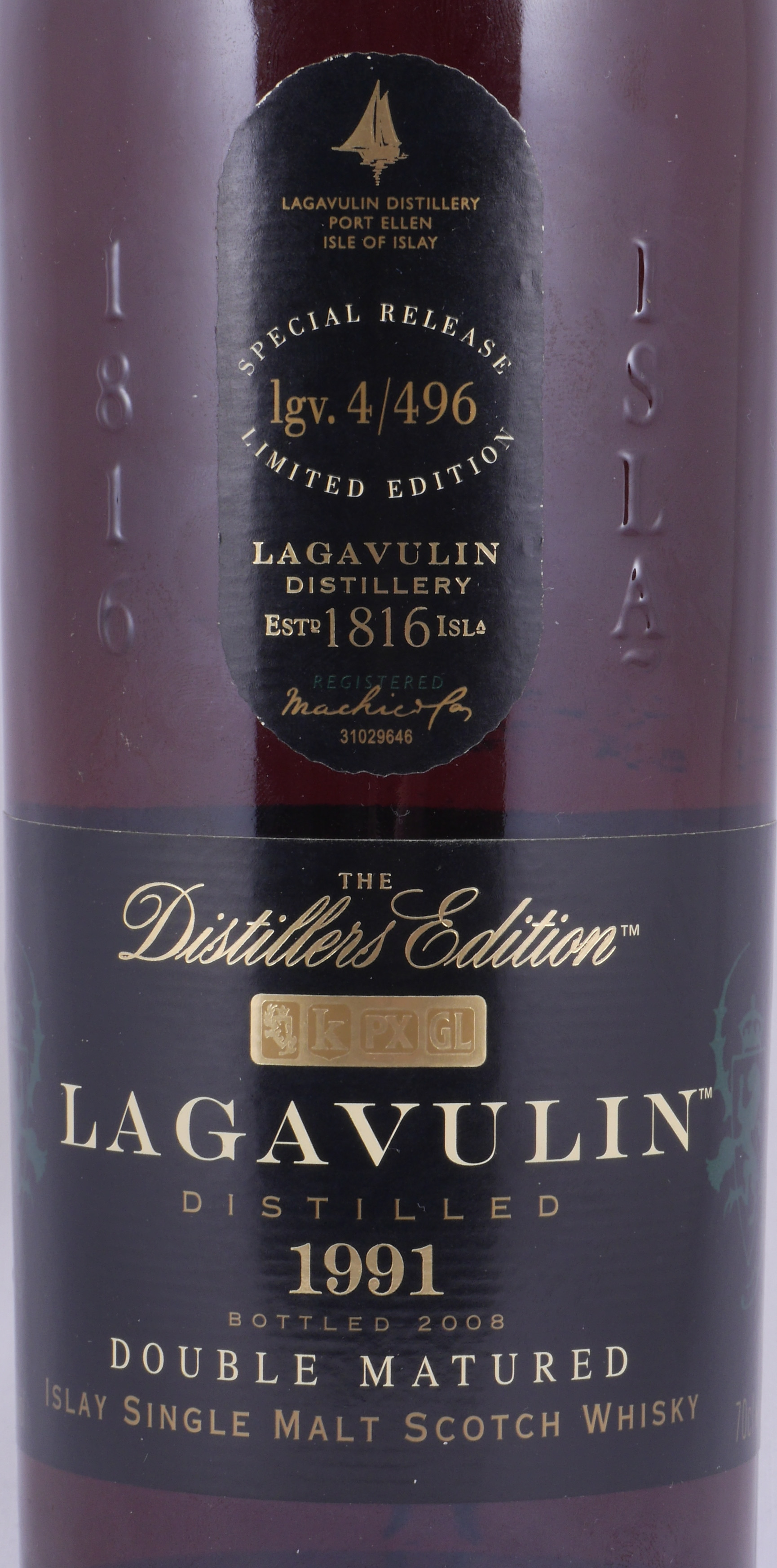 Lagavulin 1991 16 Years Distillers Edition 2008 Special