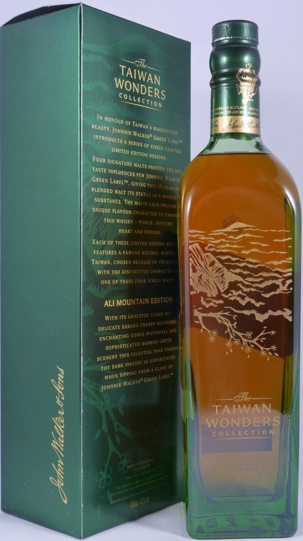 Buy Johnnie Walker 15 Years Green Label Taiwan Wonders Collection