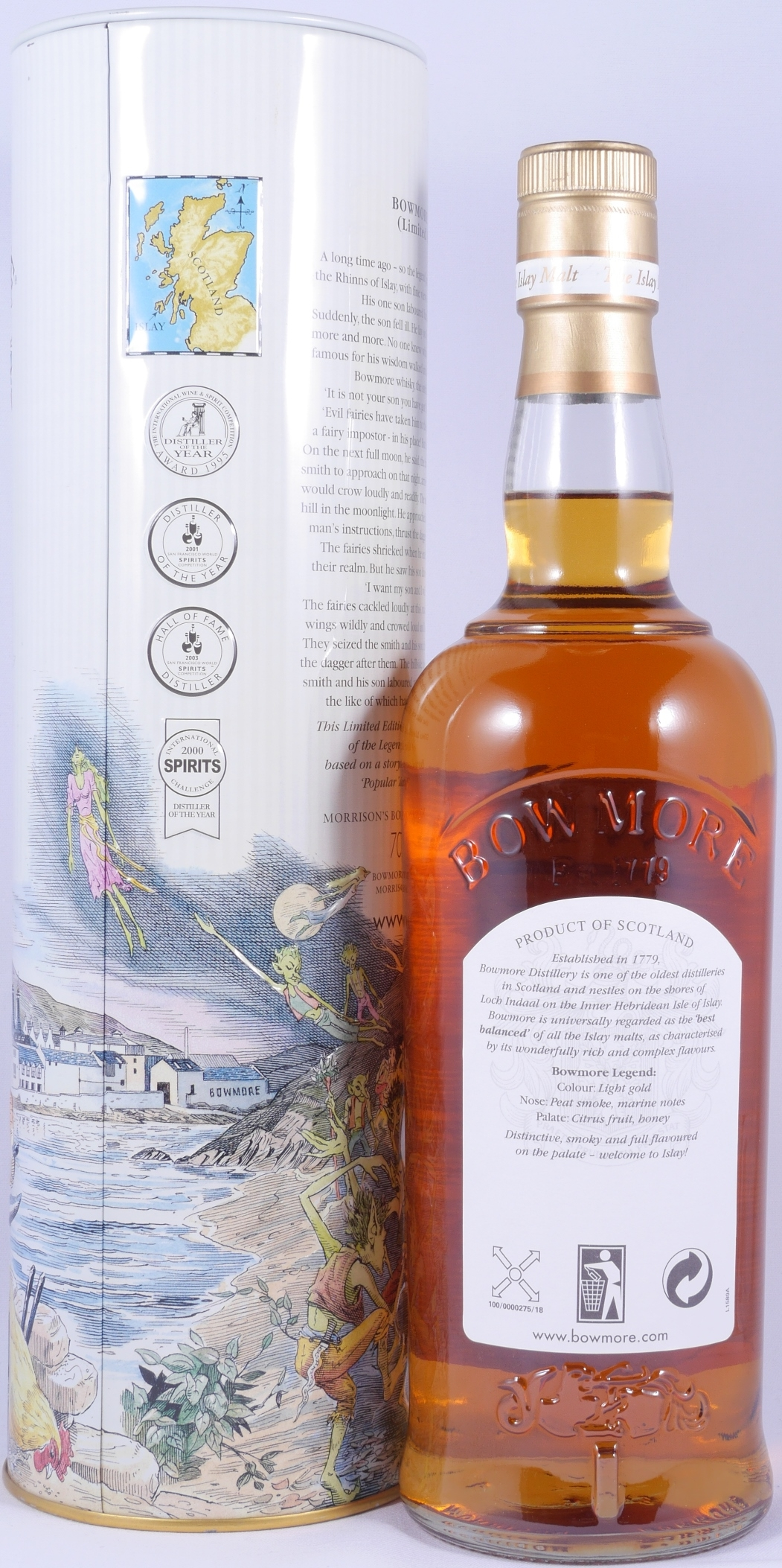 Buy Bowmore Legend the Blacksmith and the Fairies Limited