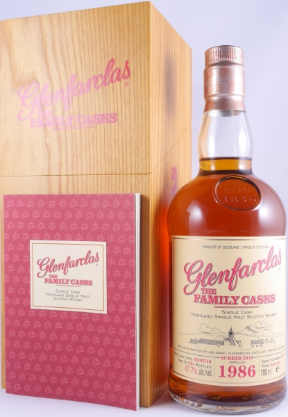 Glenfarclas 1986 32 Years The Family Casks Refill Butt Cask 4775 Highland Single Malt Scotch Whisky 47,7%