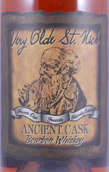 Very Olde St. Nick 15 Years Ancient Cask 107 Proof Private Family Estate Kentucky Straight Bourbon Whiskey 53,5%