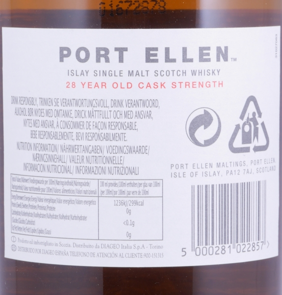 Port Ellen 1979 28 Years 7th Release limited Edition Islay Single Malt Scotch Whisky Natural Cask Strength 53.8%
