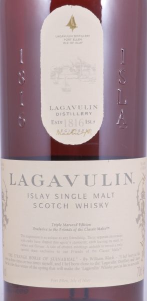 Lagavulin Triple Matured 2013 Friends of the Classic Malts Special Release Islay Single Malt Scotch Whisky 48.0%