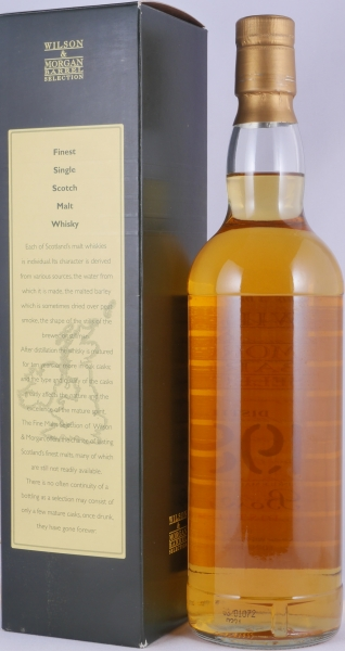 Bowmore 1989 14 Years Armagnac Finish Wilson and Morgan Barrel Selection Islay Single Malt Scotch Whisky 46.0%
