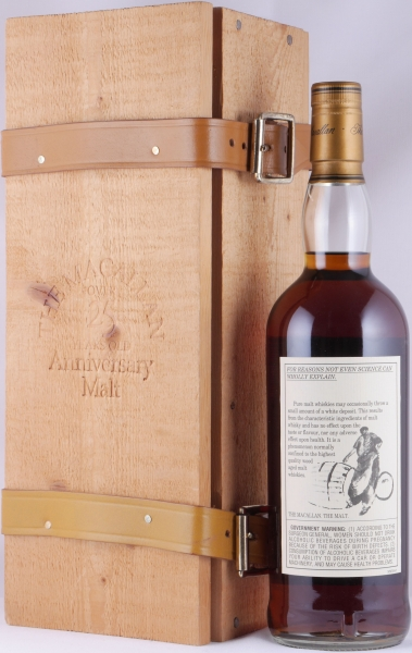 Macallan 1975 25 Years The Anniversary Malt Special Bottling Sherry Oak Highland Single Malt Scotch Whisky 43.0%