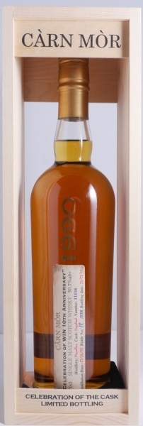 Macallan 1990 20 Years Single Malt Scotch Whisky Old Càrn Mòr Celebration of WIN 10th Anniverary 50,7%