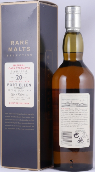 Port Ellen 1978 20 Years Islay Single Malt Scotch Whisky Diageo Rare Malts Selection 60,9%