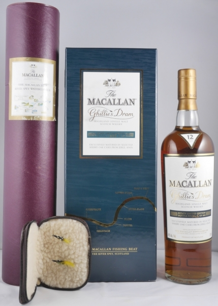 Macallan 12 Years Ghillies Dram Estate Limited Edition Highland Single Malt Scotch Whisky 40,0%