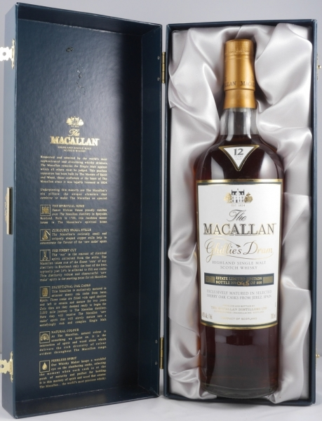 Macallan 12 Years Ghillies Dram Estate Limited Edition Highland Single Malt Scotch Whisky 40.0%