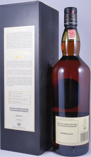 Lagavulin 1995 16 Years Distillers Edition 2011 Special Release lgv.4/499 Islay Single Malt Scotch Whisky 43,0%