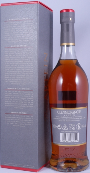 Glenmorangie Artein Private Edition 2011 15 Years Highland Single Malt Scotch Whisky 46,0%