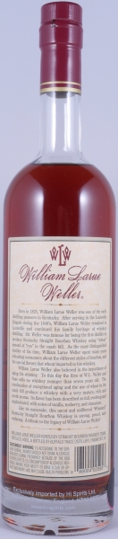 William Larue Weller 2003 Fall of 2015 Kentucky Straight Bourbon Whiskey 67.3% from the Buffalo Trace Antique Collection