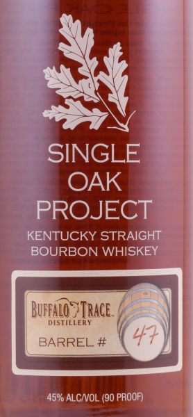 Buffalo Trace Single Oak Project Barrel #47 Kentucky Straight Bourbon Whiskey 45.0%