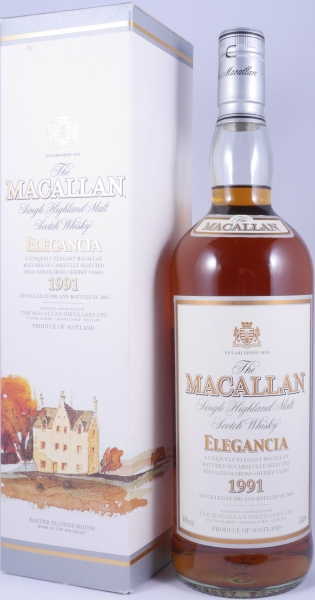 Macallan 1991 12 Years Elegancia Sherry Casks Highland Single Malt Scotch Whisky 40,0%