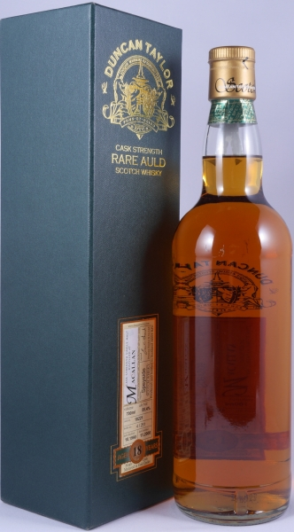 Macallan 1990 18 Years Cask 18221 Highland Single Malt Scotch Whisky Duncan Taylor Cask Strength Rare Auld Edition 55,4%