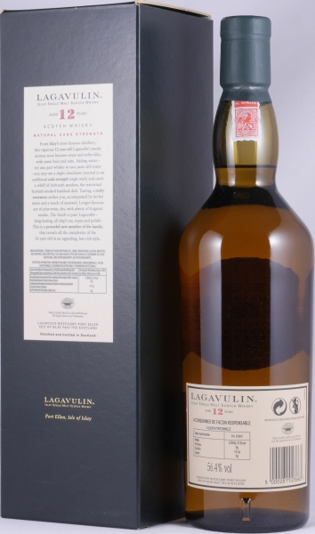 Lagavulin 12 Years 8th Special Release Limited Edition 2008 Islay Single Malt Scotch Whisky Cask Strength 56,4%