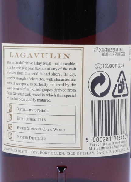 Lagavulin 1990 16 Years Distillers Edition 2006 Special Release lgv.4/494 Islay Single Malt Scotch Whisky 43.0%