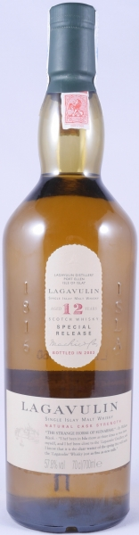 Lagavulin 1991 12 Years 3rd Special Release 2003 Limited Edition Islay Single Malt Scotch Whisky Cask Strength 57.8%