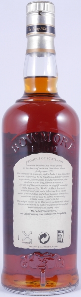 Bowmore Darkest Sherry Casked Islay Single Malt Scotch Whisky Old Bottling Seagull Label 3 Icons 43,0%