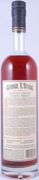 George T. Stagg 1993 Fall of 2011 Kentucky Straight Bourbon Whiskey 71.3% from the Buffalo Trace Antique Collection