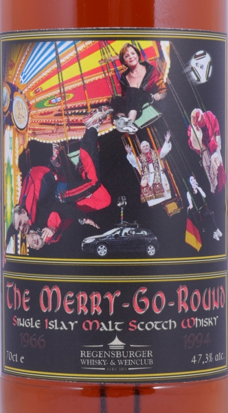 Ardbeg 1966-1994 - 2010 The Merry-Go-Round C.V. Islay Single Malt Scotch Whisky Regensburger Whiskyclub 47,3%