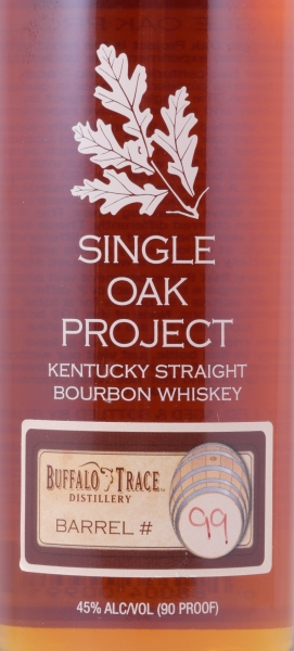 Buffalo Trace Single Oak Project Barrel #99 First Release Kentucky Straight Bourbon Whiskey 45,0%