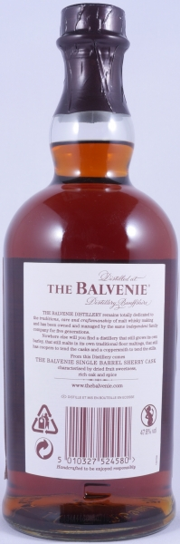 Balvenie 15 Years Sherry Cask 11269 Single Barrel Highland Single Malt Scotch Whisky 47,8%