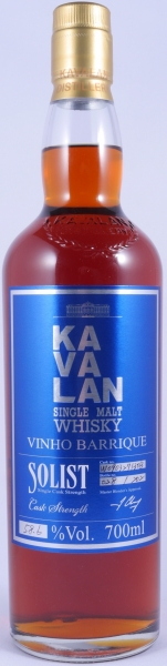 Kavalan Solist Vinho Barrique Single Malt Whisky Cask W090327130B Release 2015 Cask Strength 58,6%