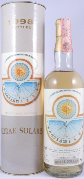 Macallan 1988 10 Years Horae Solaris Moon Import Highland Single Malt Scotch Whisky Cask Strength 50.0%