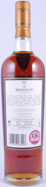 Macallan 1991 18 Years Sherry Oak Highland Single Malt Scotch Whisky 43,0%