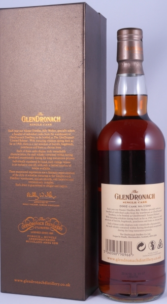 Glendronach 2002 12 Years PX Sherry Puncheon Single Cask 1500 Batch No. 10 Highland Single Malt Scotch Whisky 56.7%