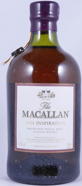 Macallan 1851 Inspiration Highland Single Malt Scotch Whisky 41,3%