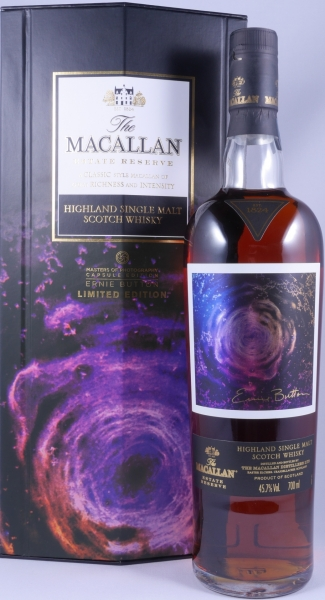 Macallan Estate Reserve Masters of Photography Capsule Ernie Button Highland Single Malt Scotch Whisky 45.7%