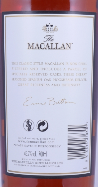 Macallan Estate Reserve Masters of Photography Capsule Ernie Button Highland Single Malt Scotch Whisky 45,7%