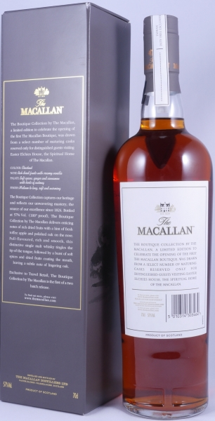 Macallan Boutique Collection Release 2016 Batch No. 1 Highland Single Malt Scotch Whisky Cask Strength 57,0%