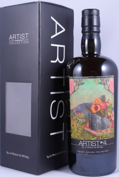 Macallan 1990 over 20 Years Artist #4 Hogshead Cask 15827 Highland Single Malt Scotch Whisky 49.2% LMDW