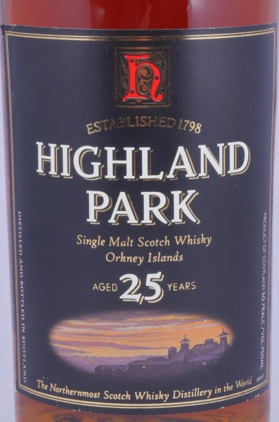 Highland Park 25 Years Release 2004 Sherry Cask Single Malt Scotch Whisky for Remy Amerique New York 50,7%
