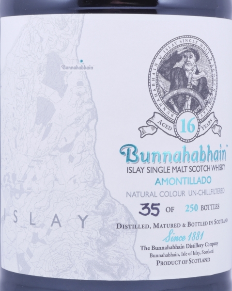 Bunnahabhain Feis Ile 2016 Amontillado Limited Edition 16 Years Islay Single Malt Scotch Whisky 54,1%