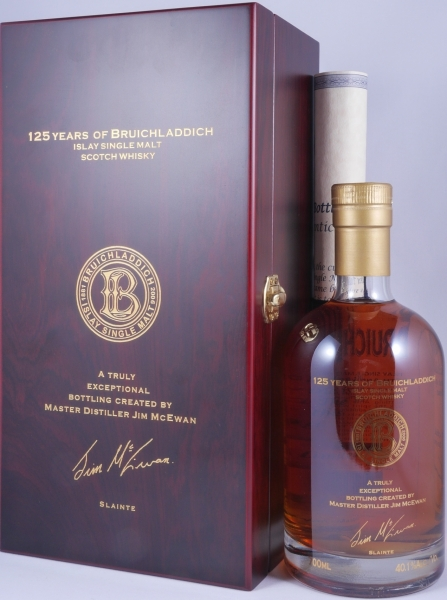 Bruichladdich 1970 35 Years 125th Anniversary Zind Humbrecht Pinot Gris Cask Islay Single Malt Scotch Whisky 40,1%