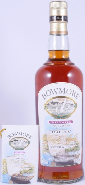 Bowmore Voyage Port Casked Limited Edition Islay Single Malt Scotch Whisky Cask Strength 56.0%