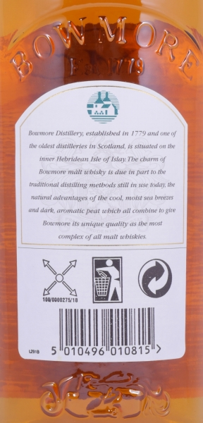 Bowmore Legend of the Sea Maiden Limited Edition 8th Release Islay Single Malt Scotch Whisky 40.0%