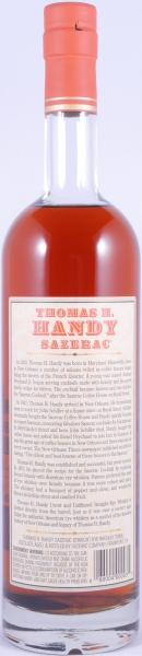 Thomas H. Handy Sazerac 2002 Fall of 2009 Straight Rye Whiskey 64.5% from the Buffalo Trace Antique Collection