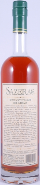Sazerac 18 Years 1991 Fall of 2009 Kentucky Straight Rye Whiskey 45.0% from the Buffalo Trace Antique Collection